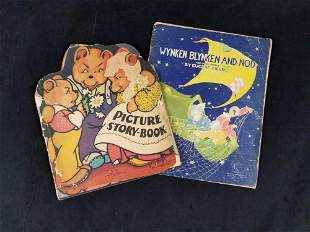 Vintage 1930s Children Story Books