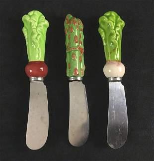 Shafford Stainless Steel Japan Butter Knife Lot