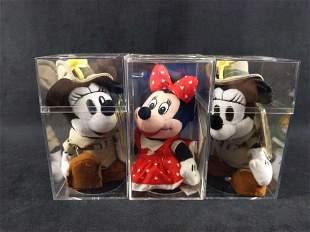 Disney Bean Bag Polka Dot Minnie And Disneyaba Minnie