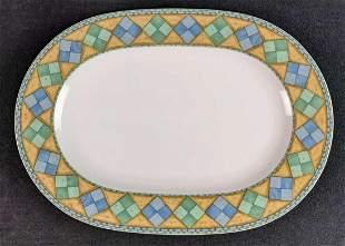 Retired Castillo By Noritake Oval Serving Platter