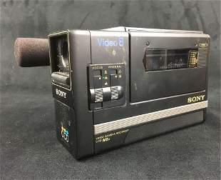 Sony Video 8 CCD M8u Vintage 8mm Camera
