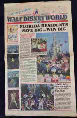 Walt Disney World News 15th Anniversary Near Years