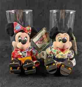 Tokyo Disney Exclusive Disney Plush Mickey & Minnie