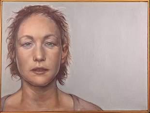 Original Framed Christine Sarmiento Acrylic On Canvas