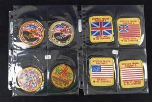 Eight Boy Scout Badges Jamboree