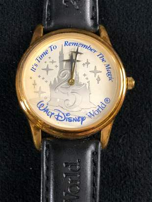 Vintage Walt Disney World 25th Commemorative Watch