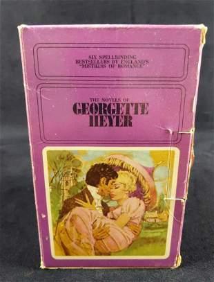 6 Vintage Georgette Heyer Romance Paperback Books