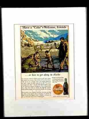 Coca-Cola Alaska Advertisement 1943