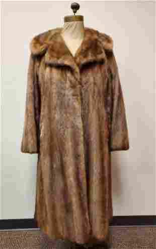 Full Length Vintage Lunaraine Mink Coat