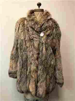 Lynx Sterling Fur Coat Italy Elsafur