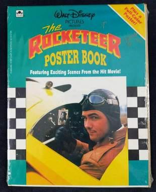 Sealed Walt Disney The Rocketeer Poster Book