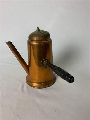 Vintage Coppercraft Guild Tea Coffee Pot w/Lid
