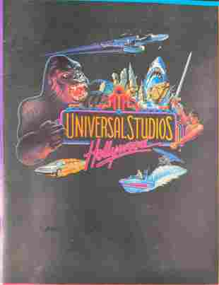 Vintage Universal Studios Hollywood Souvenir Magazine