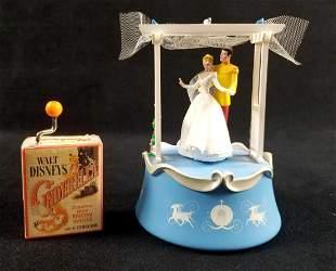 Lot of 2 Fairytale Cinderella Wedding Prince Charming