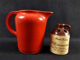 Vintage Pottery Universal Cambridge Co Lot of 2