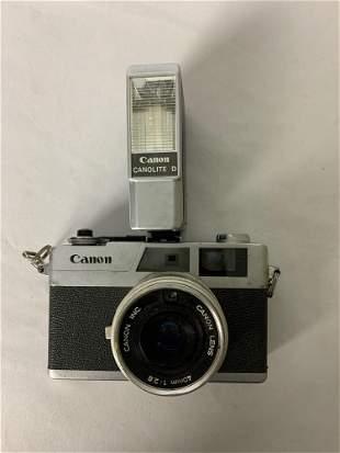 Vintage Canon Canonet 28 Analog Camera w/ Canon Lens