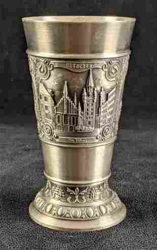 Munich Germany Silver Souvenir Cup