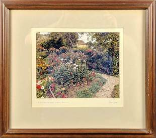 Framed Alan King Photo Of Stourhead Wiltshire