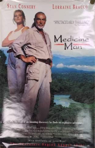Medicine Man Original Video Store Poster Sean Connery