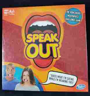 Speak Out Hasbro Board Game Mouthpiece B