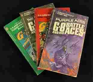 Vintage Battle Aces Robert J Hogan Book Lot