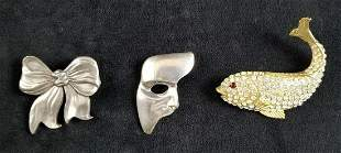 Silver Phantom Of The Opera, Seagull Pewter Ribbon, and