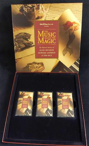 Disneys Music Behind the Magic Cassette Collection