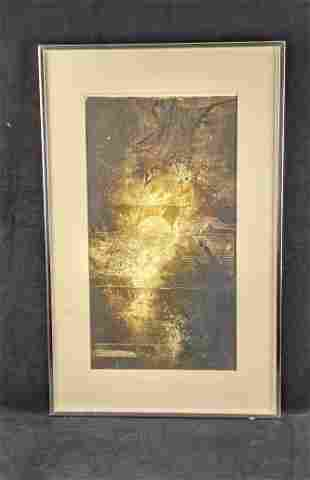 Framed Abstract Artwork by Ruth Rodman