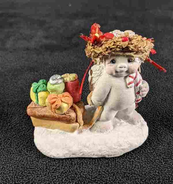 "Christmas Dreamsicles Baby Figurine ""Bearing Gifts"""