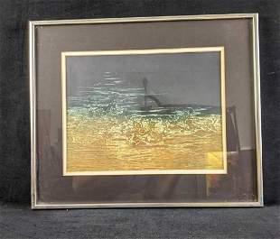 Framed Artwork By Ruth Rodman Untitled