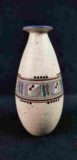 Art Deco Ceramic Bud Vase