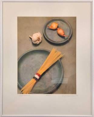 Framed LE Michael Craven Photo Pasta Overture