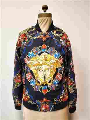 Versace Baroque Bomber Jacket New w Tags SizeM