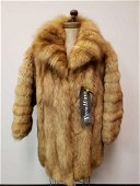 Trendfurs Red Fox Fur Coat