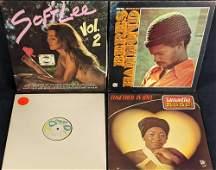 Four Vintage Reggae Soul Vinyl LP Records Spider-Man