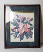 Magnolia Painting Print by Della Storms
