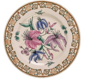 Asian Fine China Gold Floral Collectable Hand Painted
