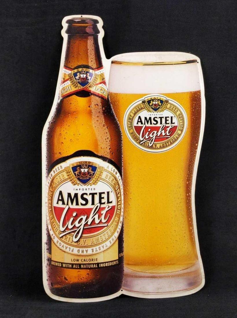 Amstel Light Beer Tin Sign Man Cave