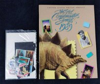 1989 Mint Set Of Commemorative US Stamps W Book