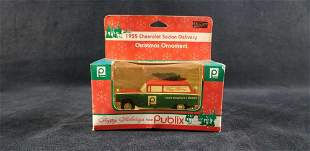 Publix Christmas Ornament 1955 Chevy Sedan 2000 Edition