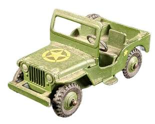 Vintage Dinky Toys US Military Jeep