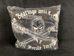 Pirate Shirt With Slogan Black 2XL