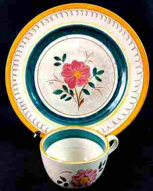 "6 Piece Stangl Pottery of Trenton N.J ""Fruit"" Pattern 2"