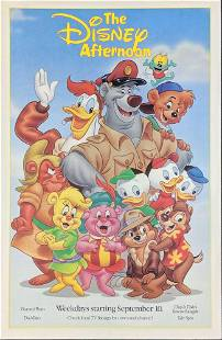 The Disney Afternoon Eyes And Ears Magazine