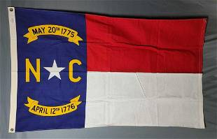 North Carolina Cotton State Flag