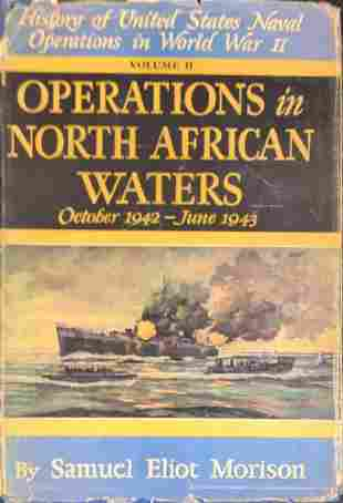 Vintage Operations In North African Waters Hardcover
