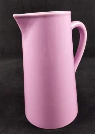 Lilac Ceramic Pitcher