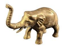 Brass Lucky Elephant Figurine
