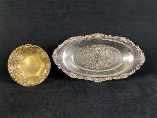 Vintage Silver Plated Dishes