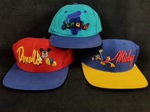 Disney Donald And Mickey Baseball Caps